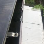 軒樋の汚れ